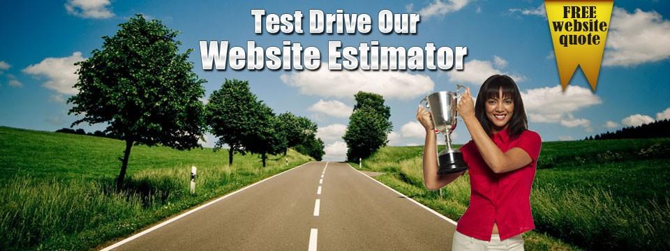 Test Drive Web Esitmator